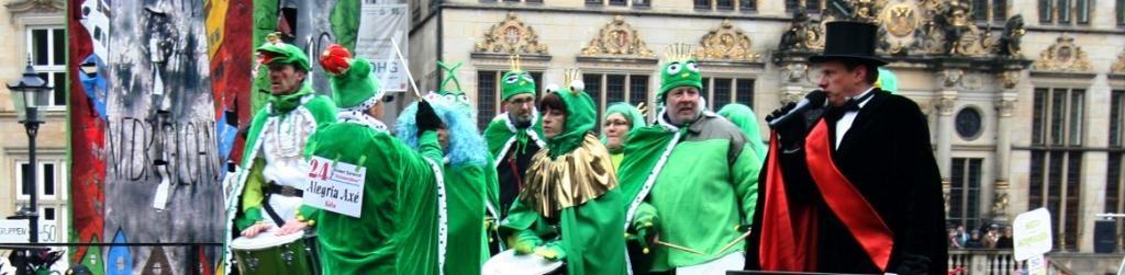 Samba und Festivals, der Frosch wird zum Prinzen geküsst